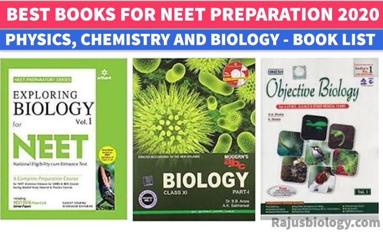 best Neet Exam books, Neet Books list