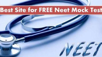 Best Site for FREE Neet Mock Test